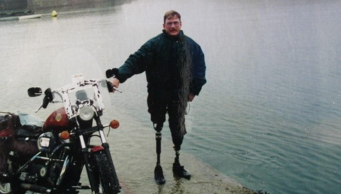 Dave Barr - żelazny motocyklista
