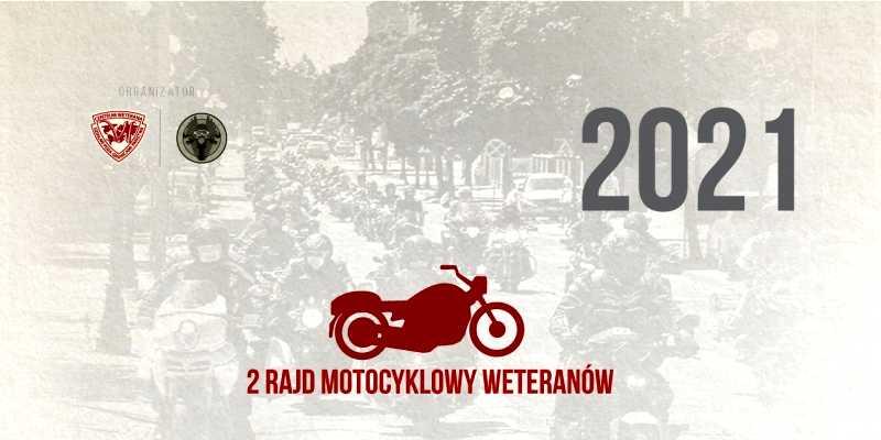 Rajd Weteranów 2021 - fragment plakatu