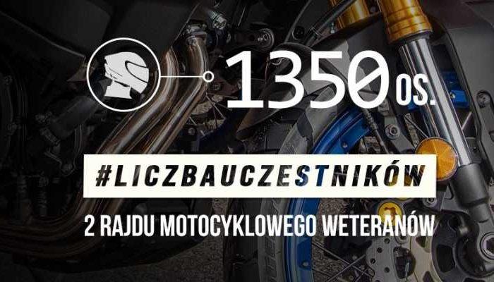 1350 weteranów pojedzie w rajdzie motocyklowym