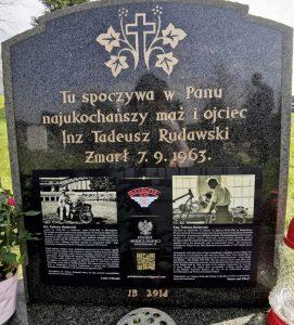 Nagrobek inż. Tadeusza Rudawskiego