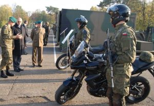 Motocykle w Wojsku Polskim