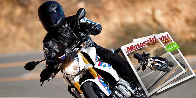 iMotocykl nr 15 - motocyklista i nowe magazyny