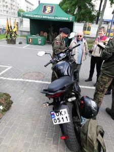 Dżentelmeni u Weteranów. Żołnierze 1 Warszawskiej Brygady Pancernej