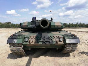 Leopard 1 Warszawskiej Brygady Pancernej. Fot. MPawlik