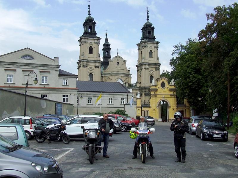 Jarosław. Kościół i klasztor Dominikanów.