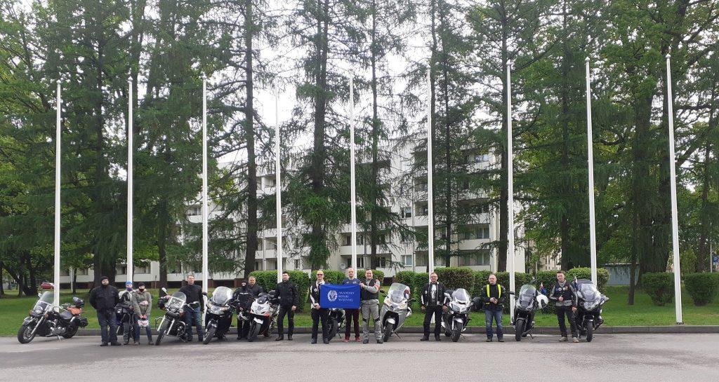 Rajd Weteranów motocykliści i Akademia Sztuki Wojennej