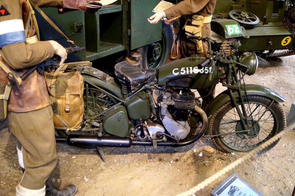 BSA M20, jeden z najpopularniejszych wojskowych motocykli angielskich w czasie II wojny światowej