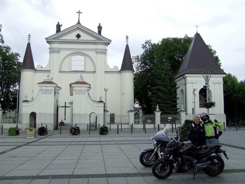 Kościół przy rynku to wizytówka Węgrowa