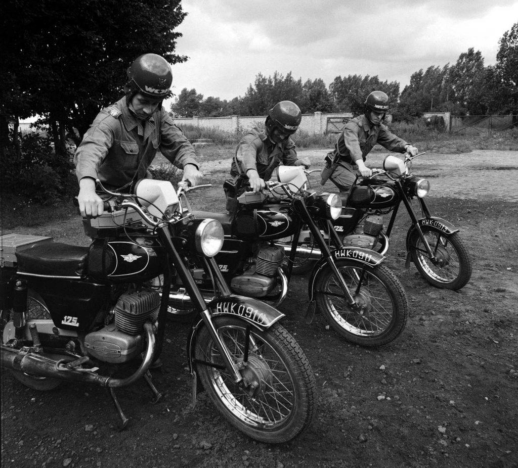 Motocykle WSK w Wojskach Ochrony Pogranicza
