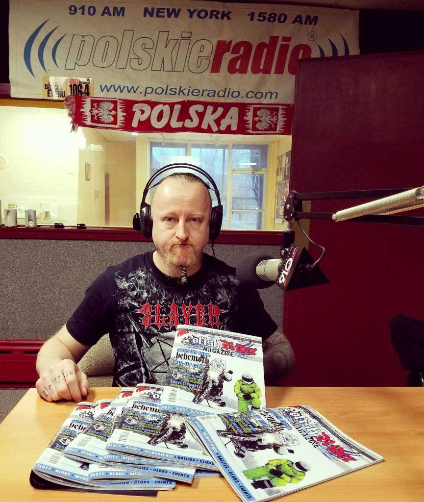 Grzegorz Kogut, redaktor naczelny - Polish Rider Magazine
