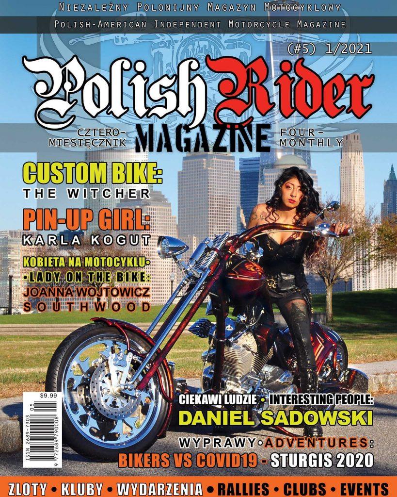 Polish Rider Magazine nr 5 - okładka