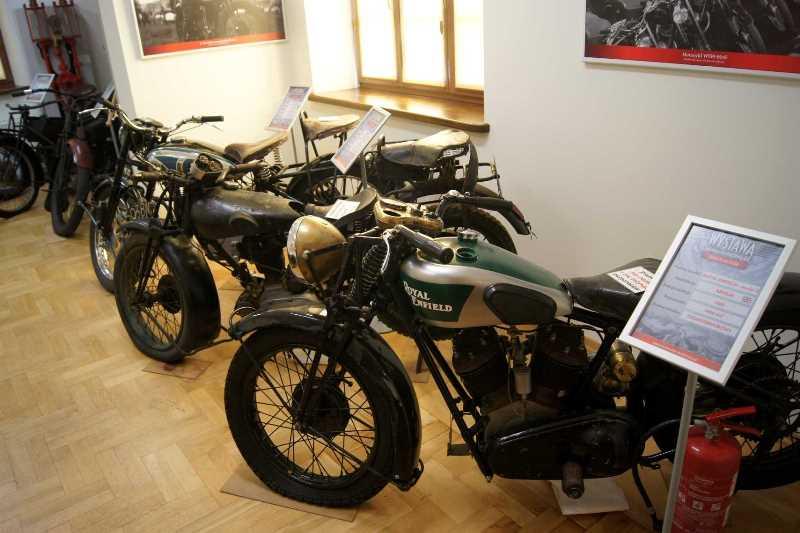 Wystawa motocykli zabytkowych w Drohiczynie